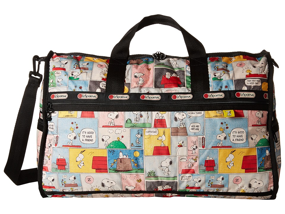 LeSportsac Luggage - Large Weekender (Snoopy Patchwork) Duffel Bags