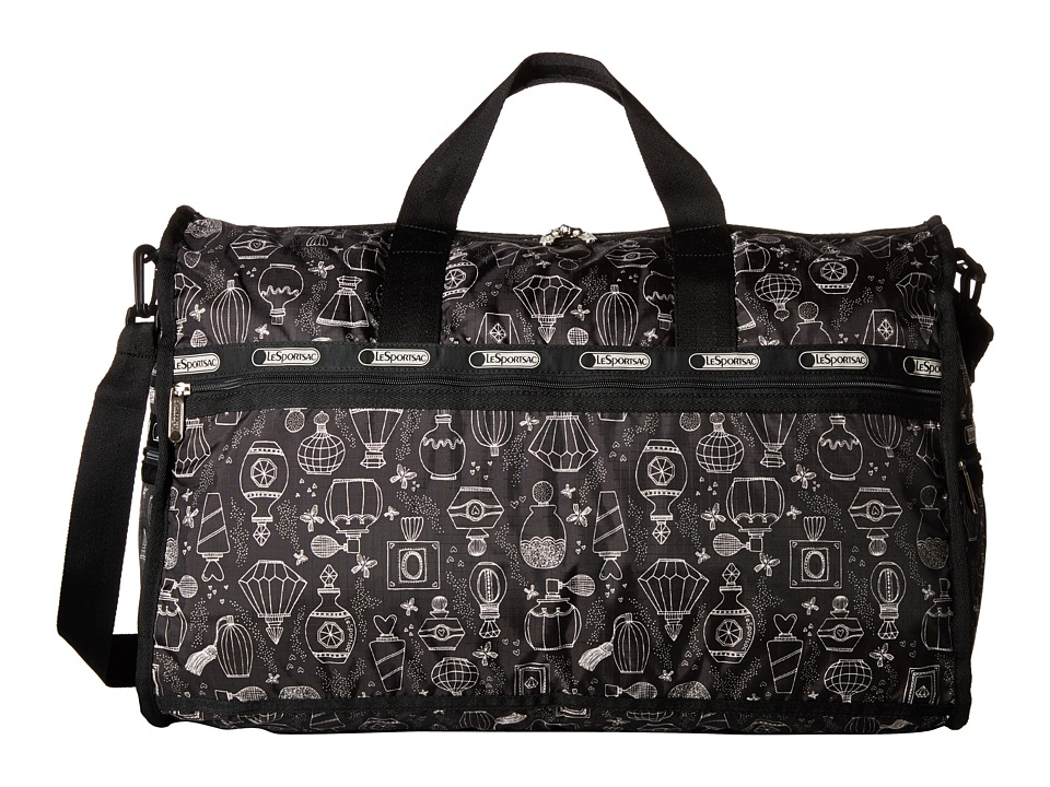 LeSportsac Luggage - Large Weekender (Sweet Essence Black) Duffel Bags