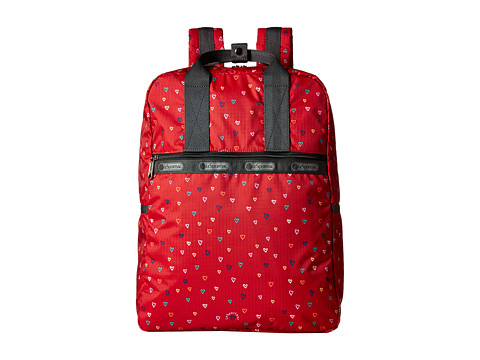 LeSportsac - Urban Backpack (Love Drops Red) Backpack Bags