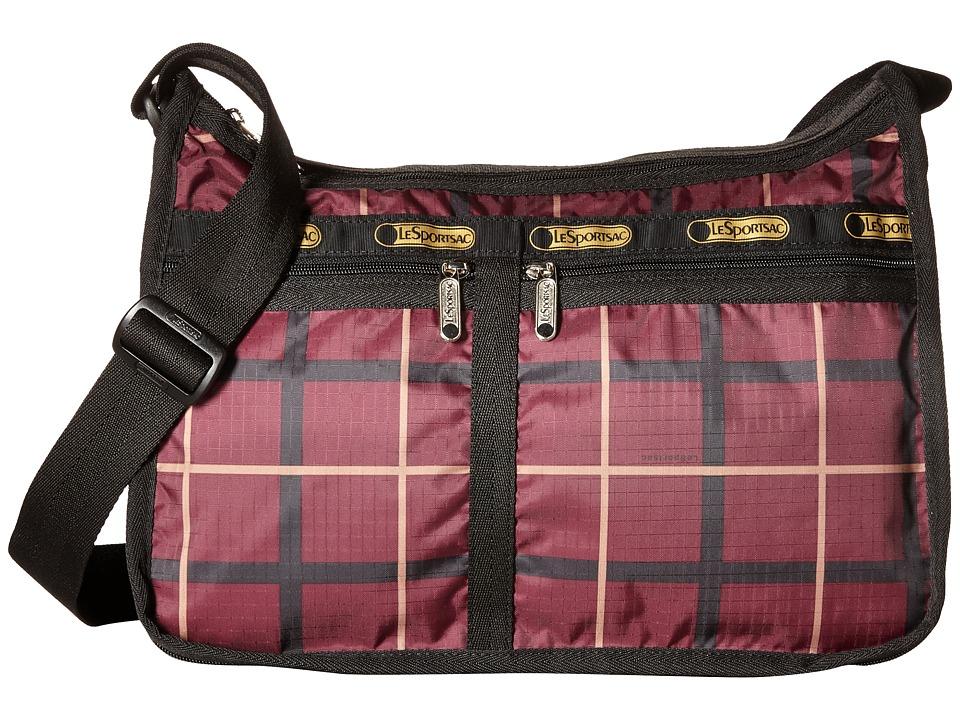 LeSportsac - Deluxe Everyday Bag (Modern Plaid) Cross Body Handbags
