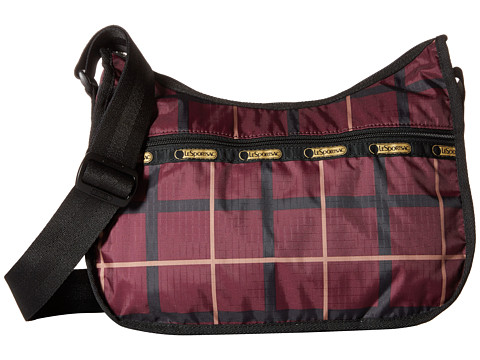LeSportsac - Classic Hobo Bag (Modern Plaid) Cross Body Handbags