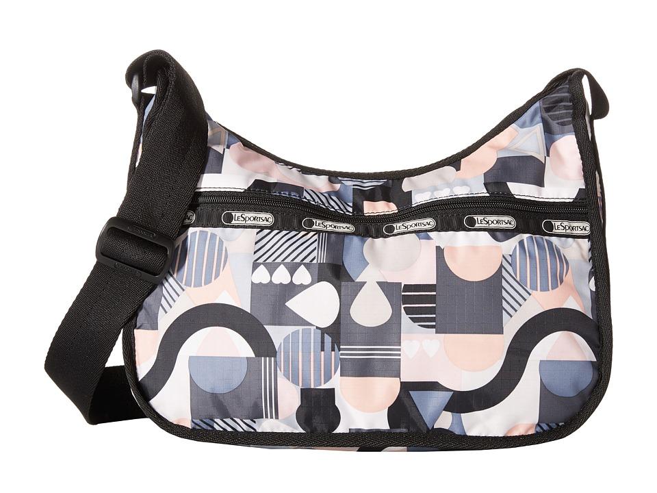 LeSportsac - Classic Hobo Bag (Cubist) Cross Body Handbags