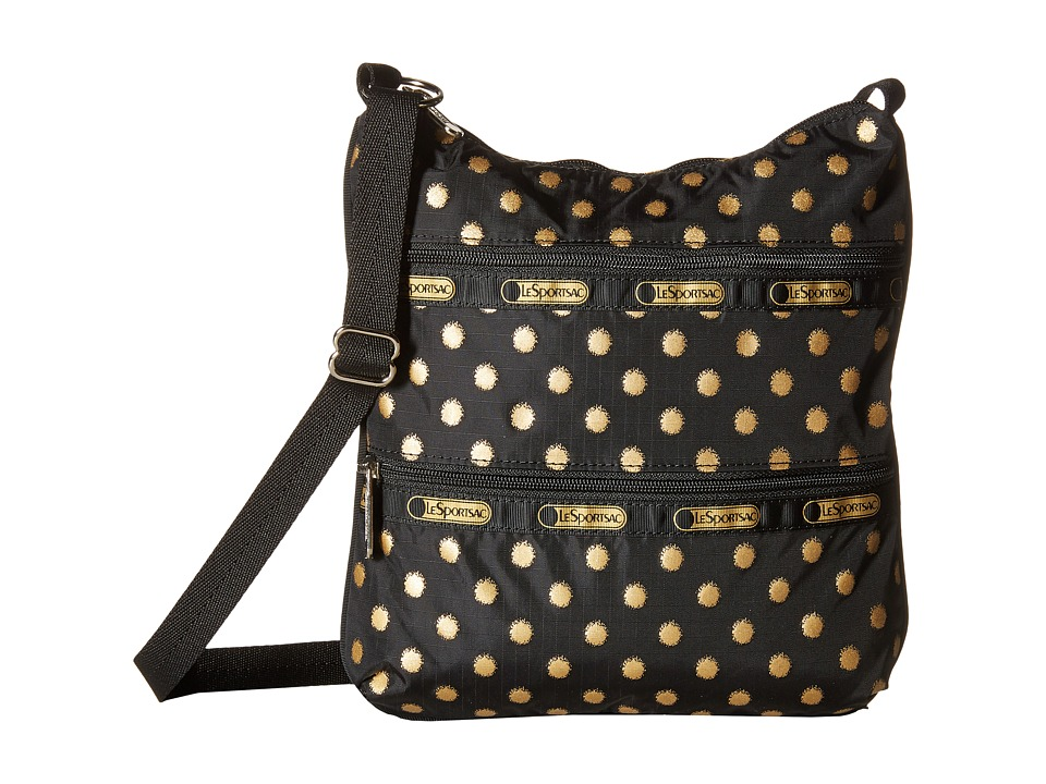 LeSportsac - Kylie (Black/Gold Foil) Handbags