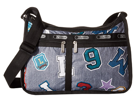 LeSportsac - Deluxe Everyday Bag (School Spirit) Cross Body Handbags