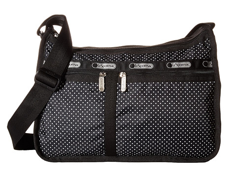 LeSportsac - Deluxe Everyday Bag (Jet Set Pin Dot) Cross Body Handbags