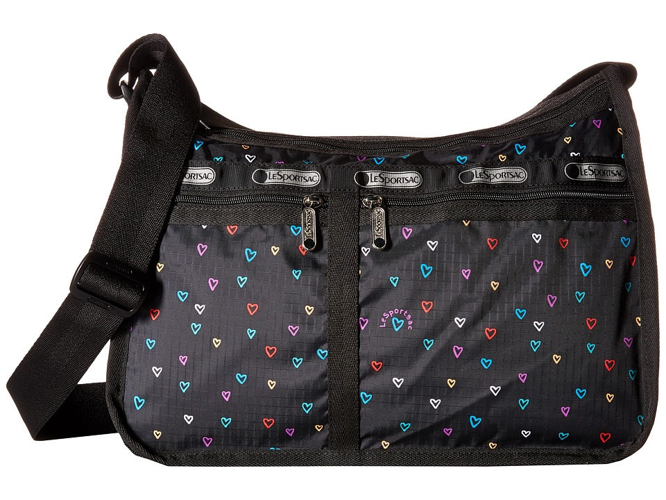 LeSportsac - Deluxe Everyday Bag (Love Drops) Cross Body Handbags