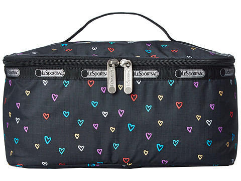 LeSportsac Luggage - Large Rectangular Train Case (Love Drops) Cosmetic Case
