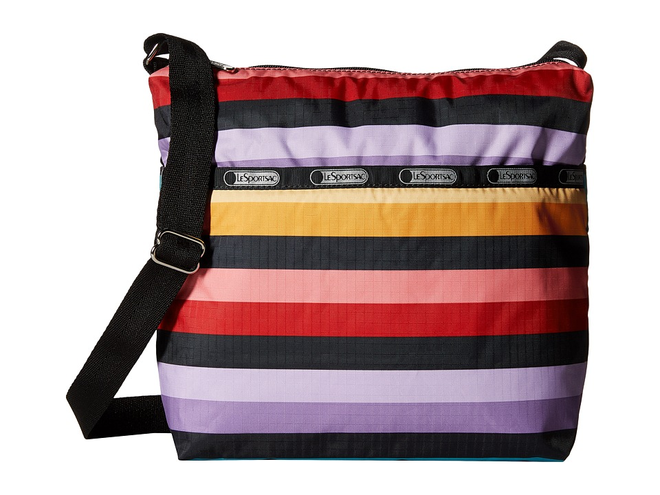 LeSportsac - Small Cleo Crossbody Hobo (Wide Ruled) Cross Body Handbags
