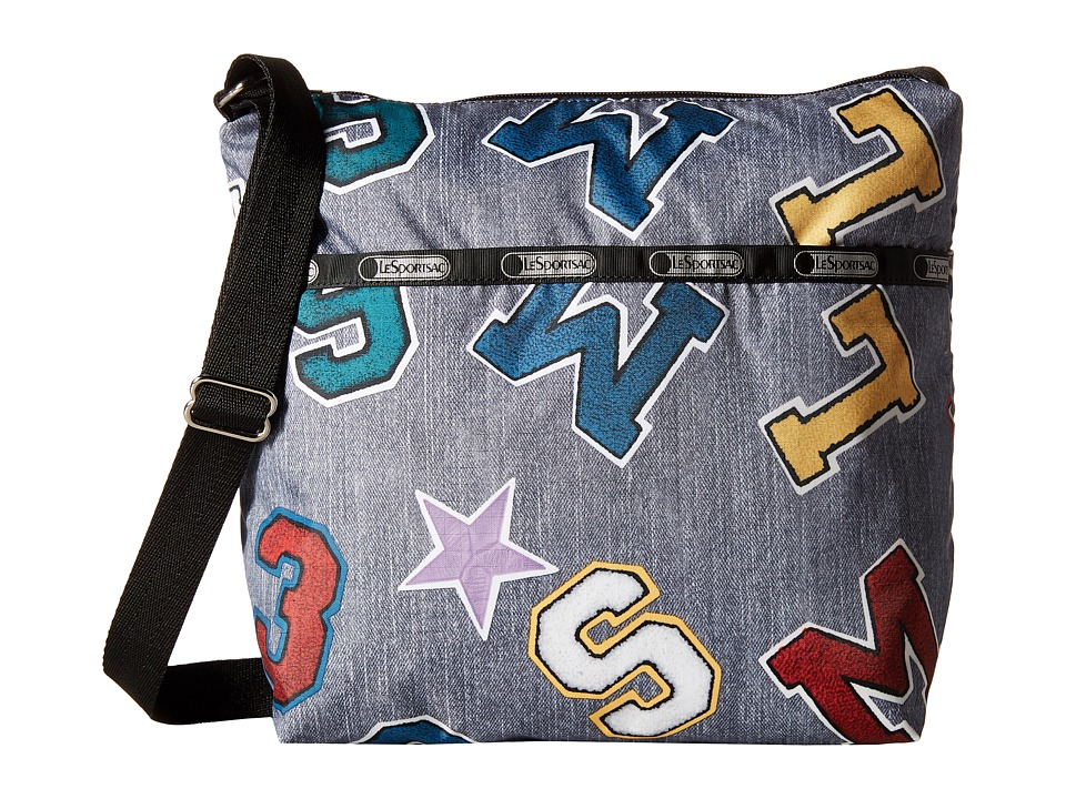 LeSportsac - Small Cleo Crossbody Hobo (School Spirit) Cross Body Handbags