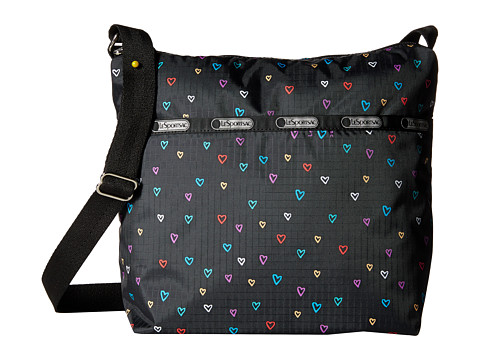 LeSportsac - Small Cleo Crossbody Hobo (Love Drops) Cross Body Handbags