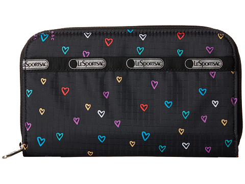 LeSportsac - Lily (Love Drops) Checkbook Wallet