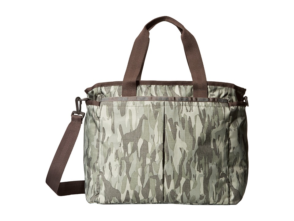 LeSportsac - Ryan Baby Bag (Animal Camo) Diaper Bags