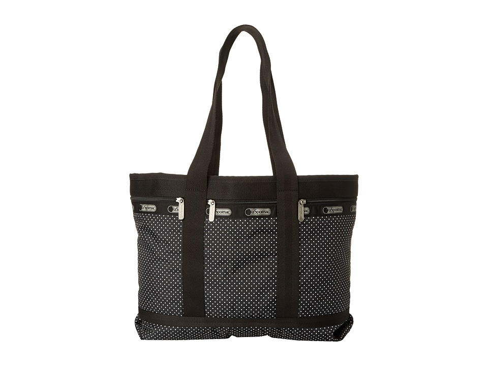 LeSportsac Luggage - Medium Travel Tote (Jet Set Pin Dot) Tote Handbags