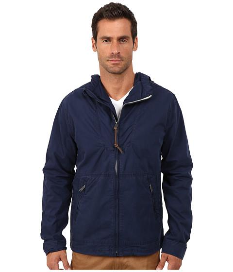 Lucky Brand - Hooded Tech Jacket (Navy) Men