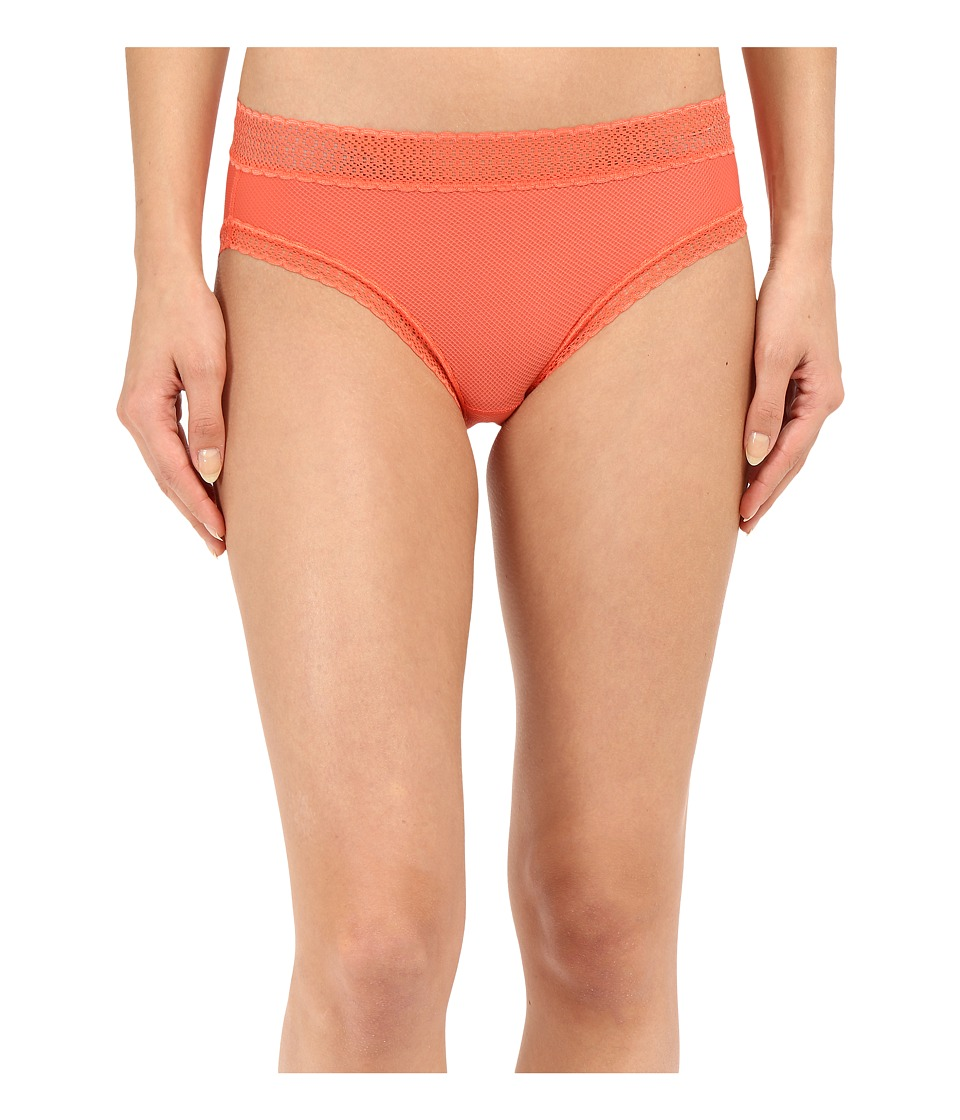 ExOfficio - Give-N-Go Lacy Bikini Brief (Hot Coral) Women's Underwear