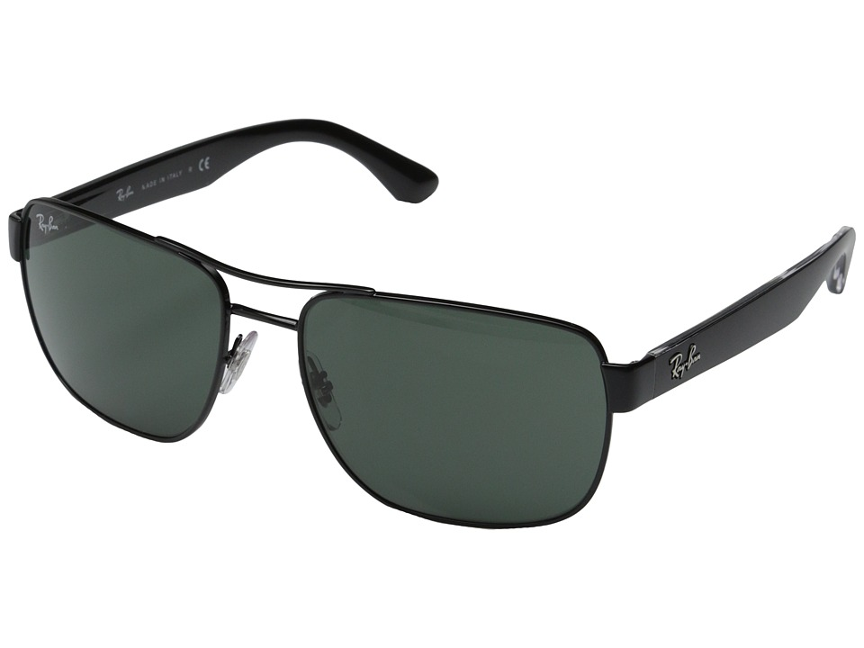 Ray-Ban - RB3530 58mm (Black) Fashion Sunglasses