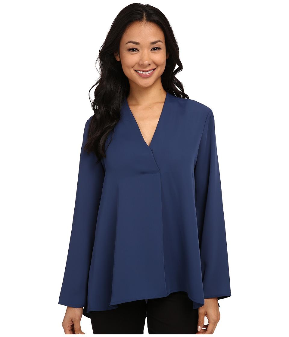 NIC+ZOE - Majestic Matte Shirt (Riviera) Women's Long Sleeve Pullover