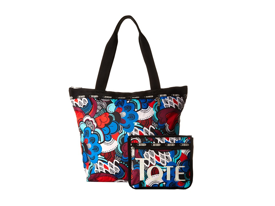 LeSportsac - Deluxe Hailey Tote (Swoopty Deluxe) Tote Handbags