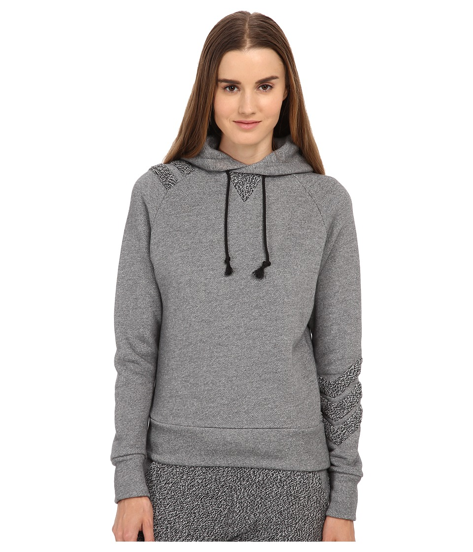 adidas Y-3 by Yohji Yamamoto - Chevron Hoodie (Black/Core White) Women's Sweatshirt