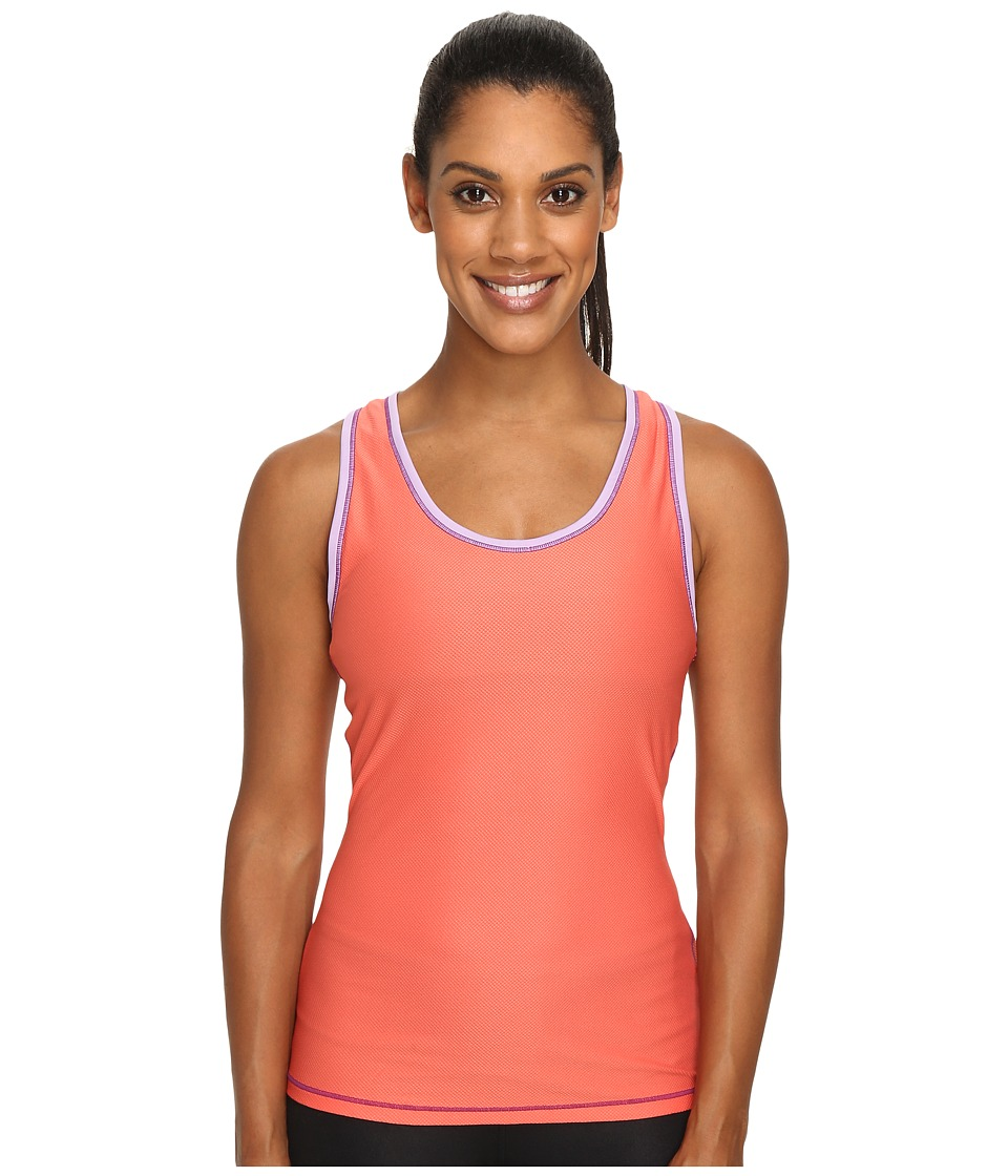 ExOfficio - Give-N-Go Sport Mesh Tank Top (Hot Coral) Women's Sleeveless