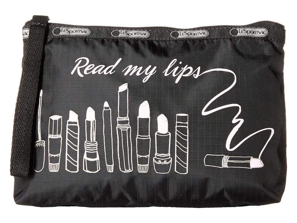LeSportsac - Essential Wristlet (Read My Lips) Bags