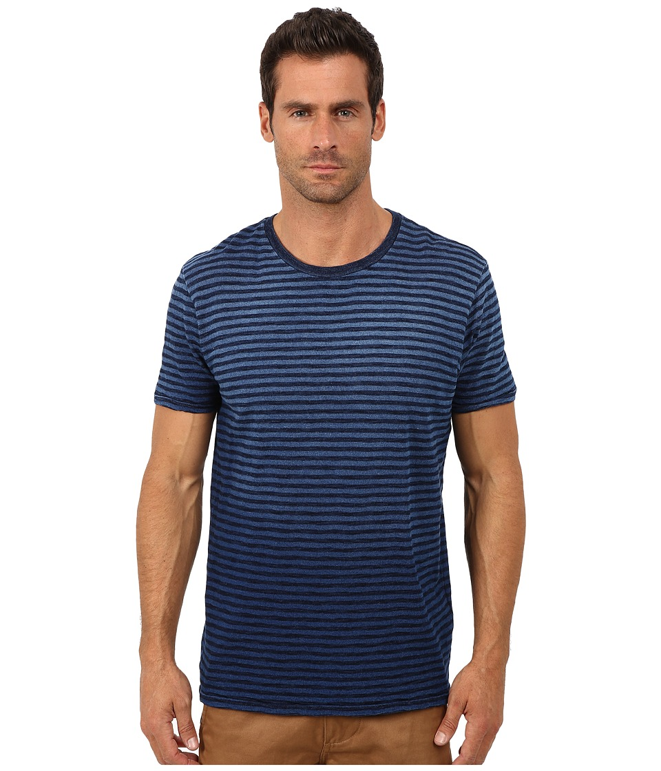Lucky Brand - Indigo On Indigo Tee (Multi) Men's T Shirt