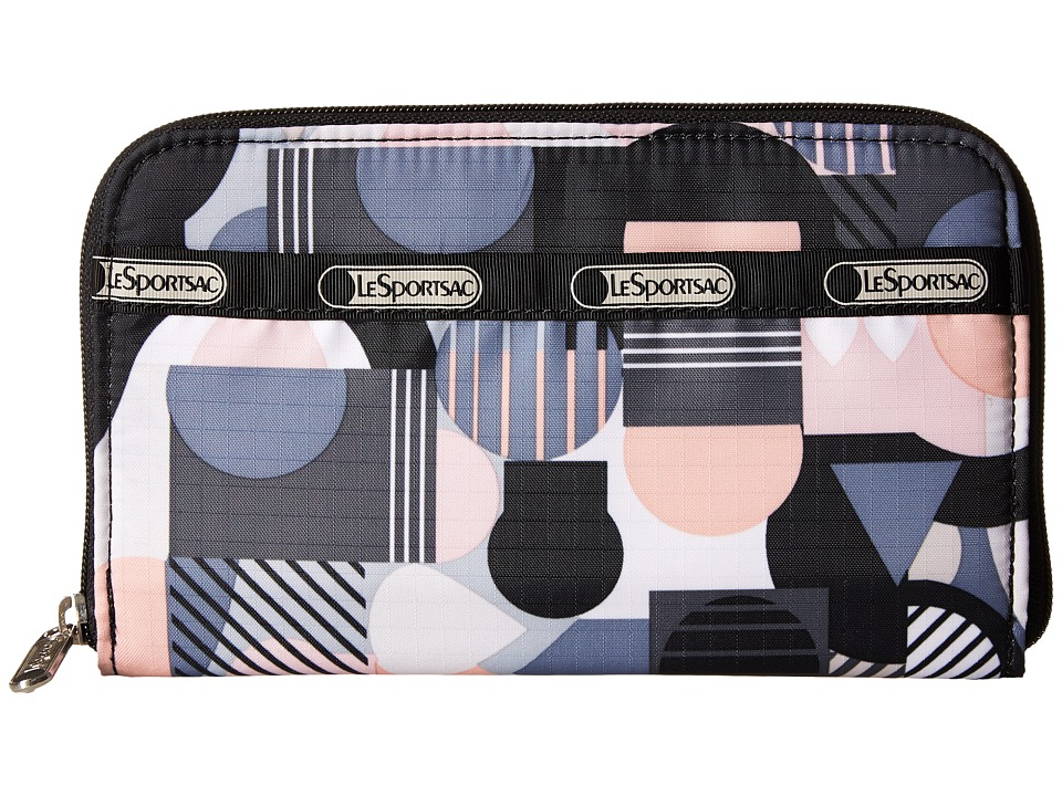 LeSportsac - Lily (Cubist) Checkbook Wallet