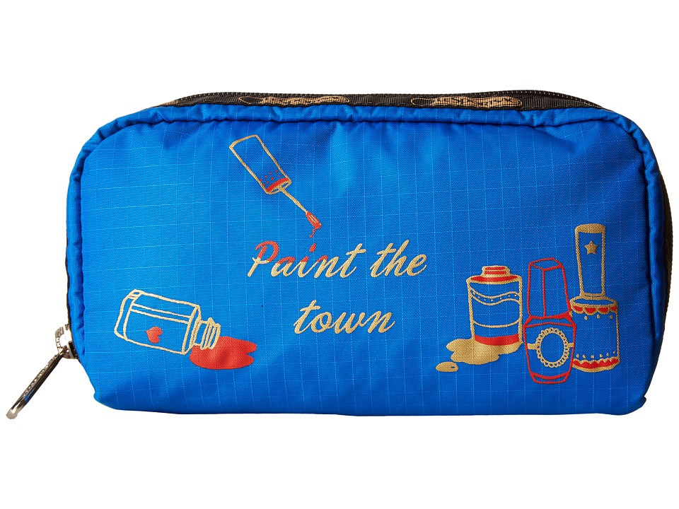 LeSportsac - Rectangular Cosmetic (Paint The Town) Clutch Handbags