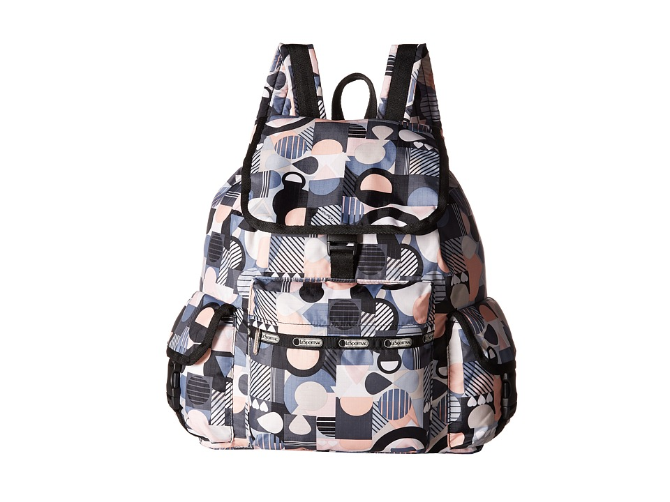 LeSportsac - Voyager Backpack (Cubist) Backpack Bags