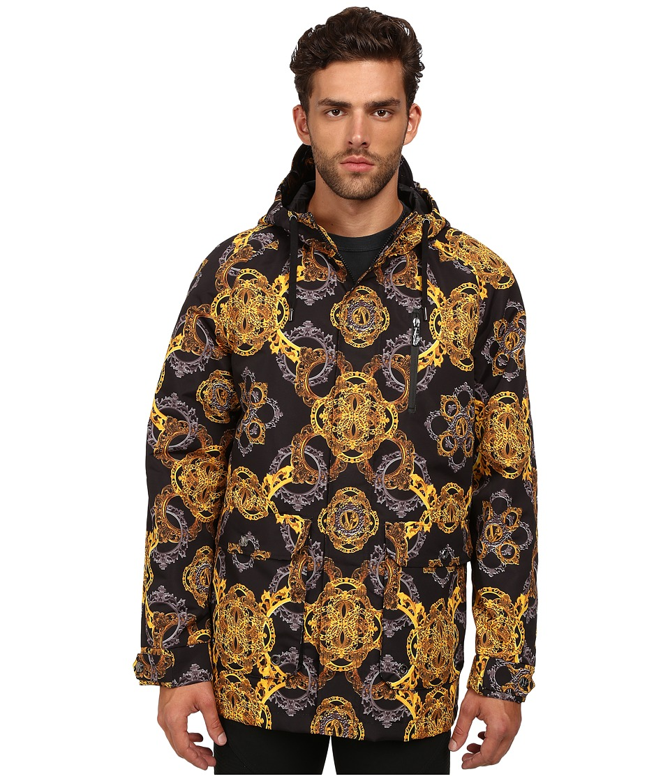 Versace Jeans - Printed Jacket (Black) Men's Coat