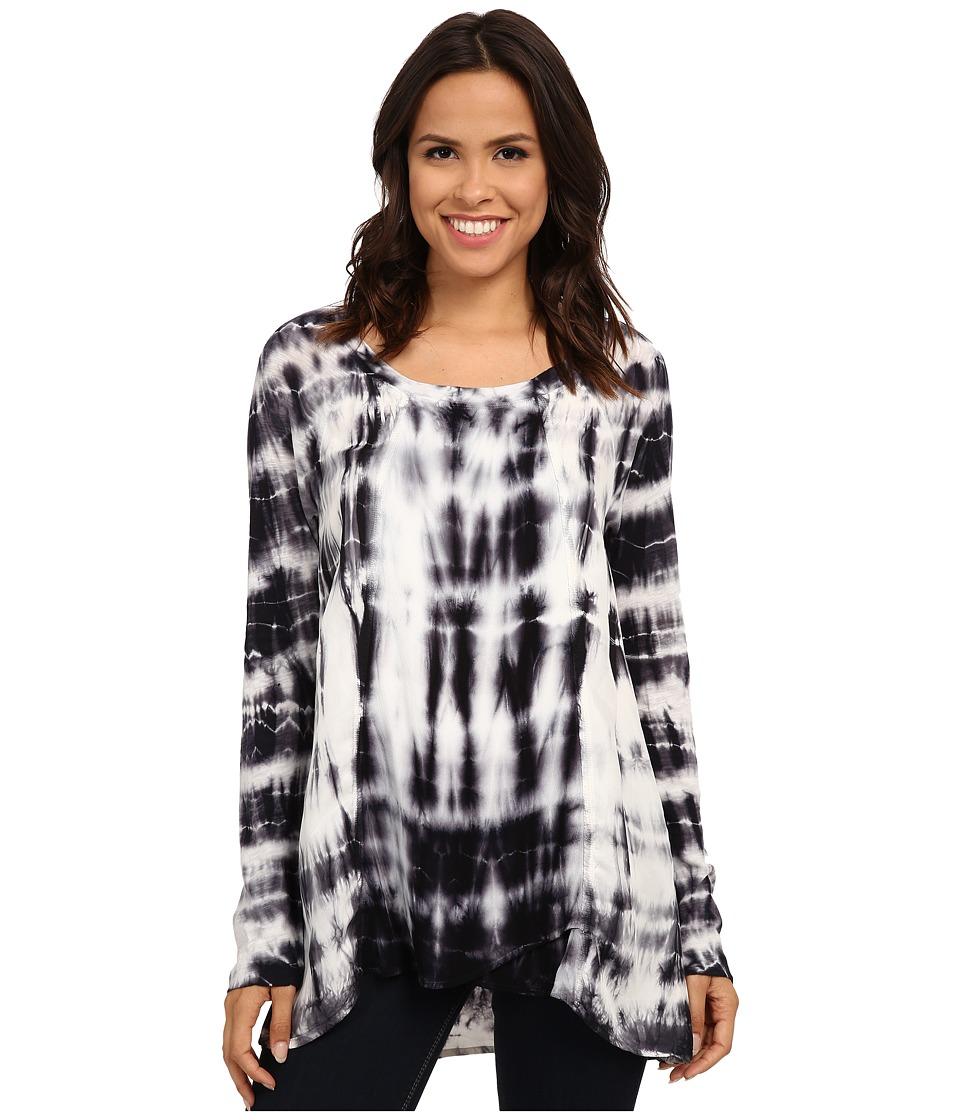 XCVI - Winslet Top (Ocean Black) Women's Clothing