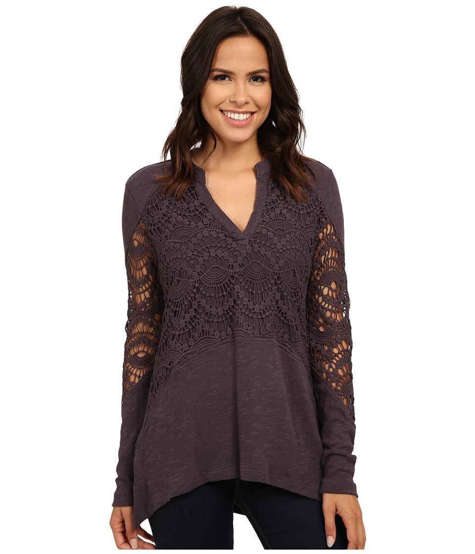 XCVI - Nia Top (Falcon Grey) Women's Clothing