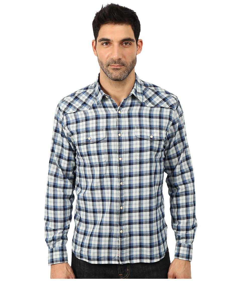 Lucky Brand - Stonewall Western Shirt (Blue Multi) Men's Clothing