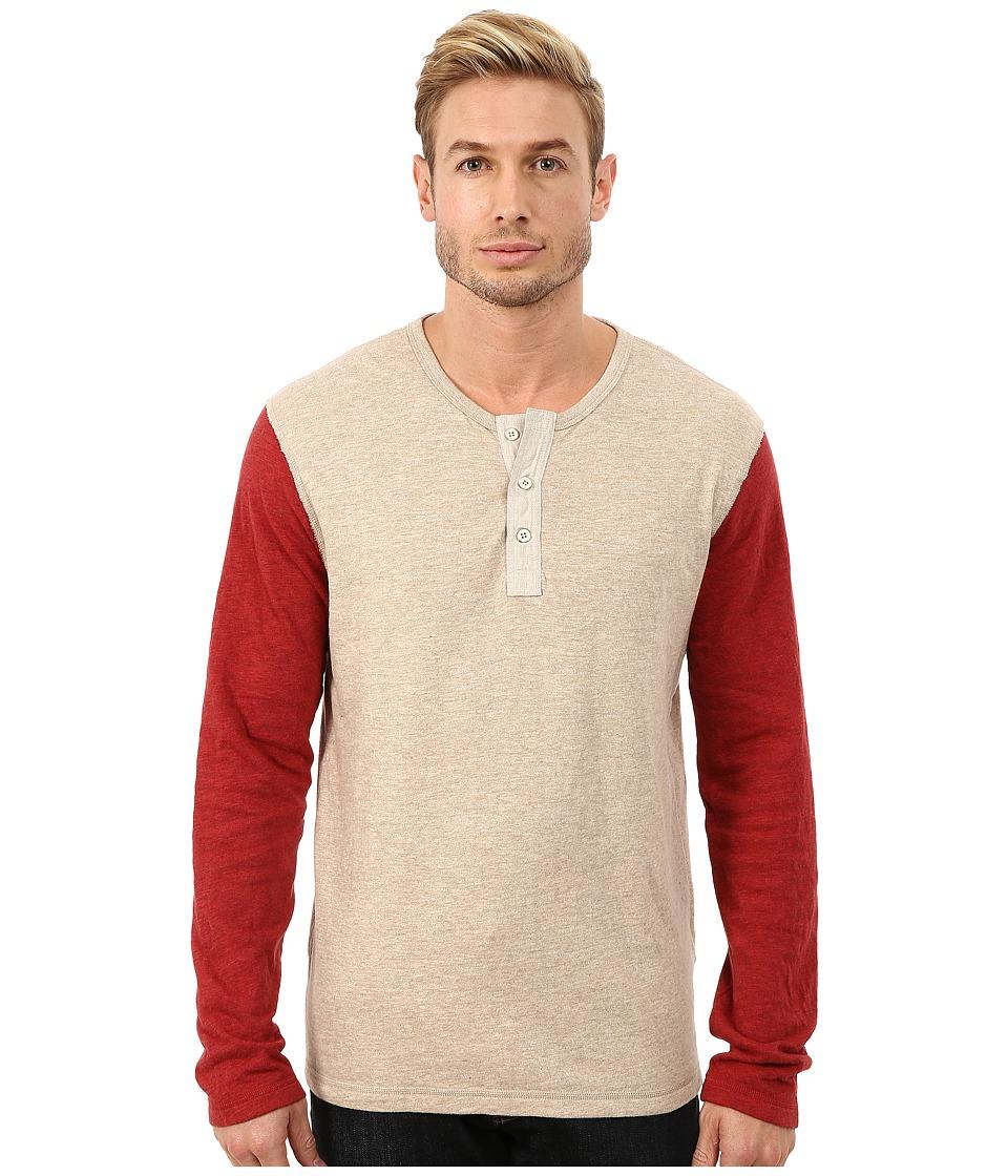 Lucky Brand - Duofold Henley (Multi) Men's Clothing
