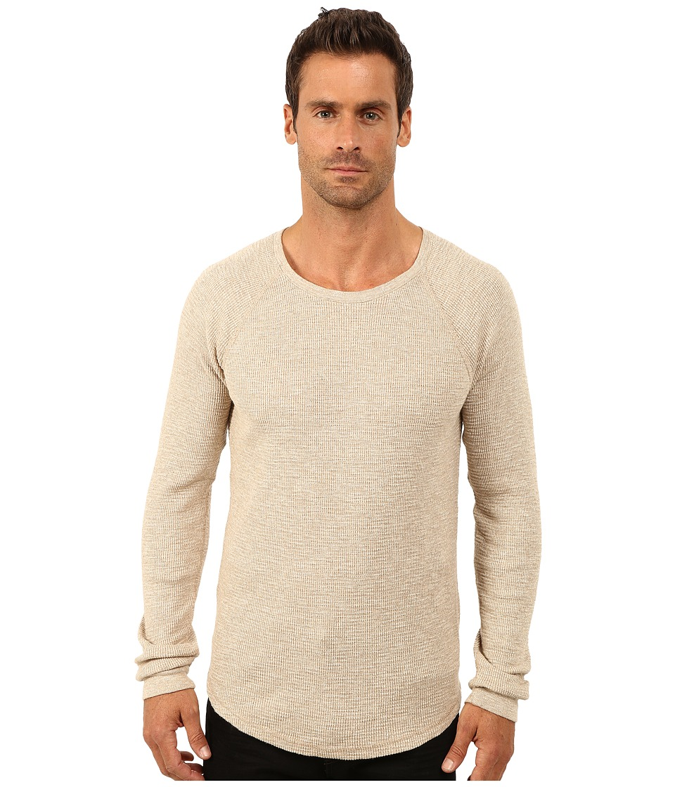 Lucky Brand - Thermal Crew (Oatmeal) Men's Clothing