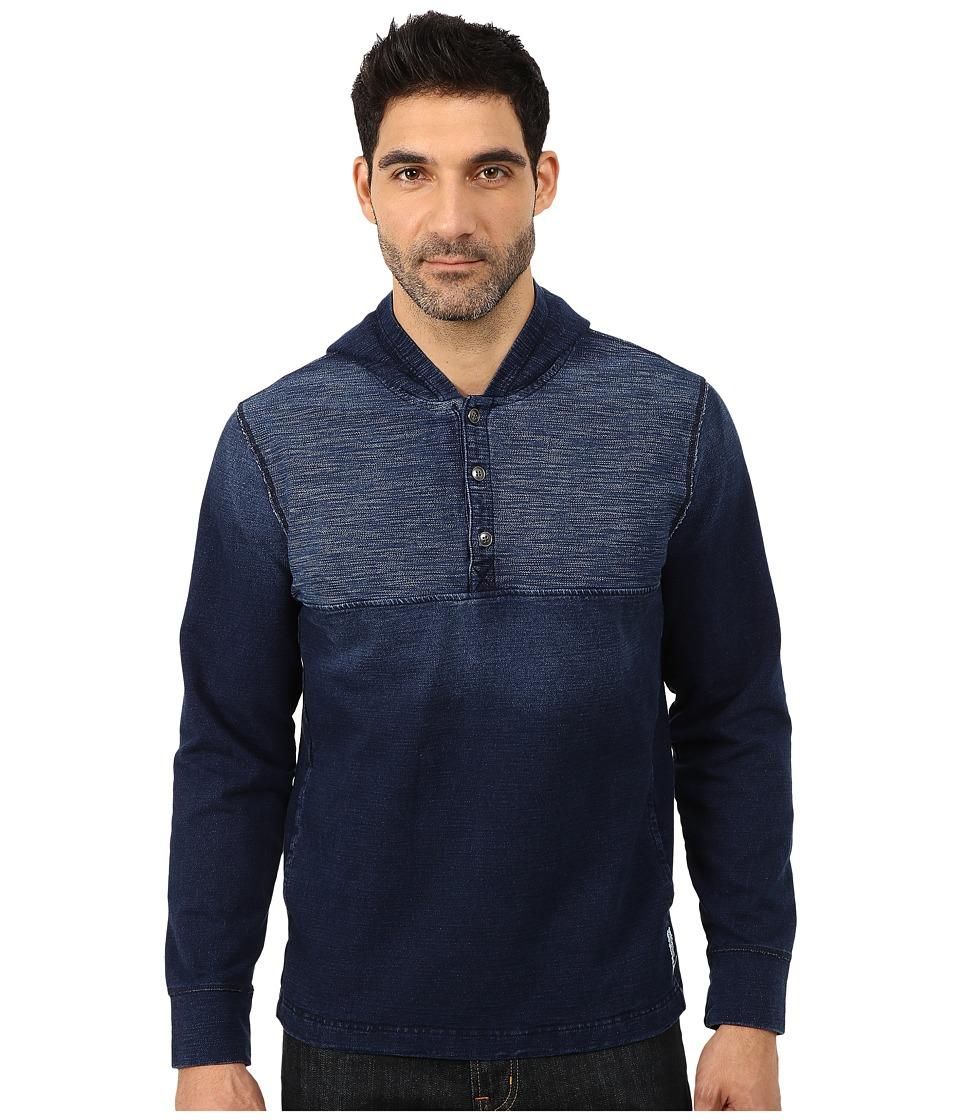 Lucky Brand - Indigo Hoodley (Indigo) Men's Clothing