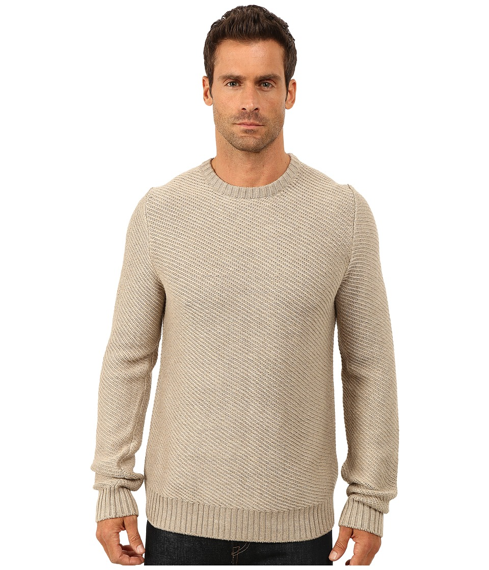 Lucky Brand - Boardwalk Crew (Oatmeal) Men's Clothing