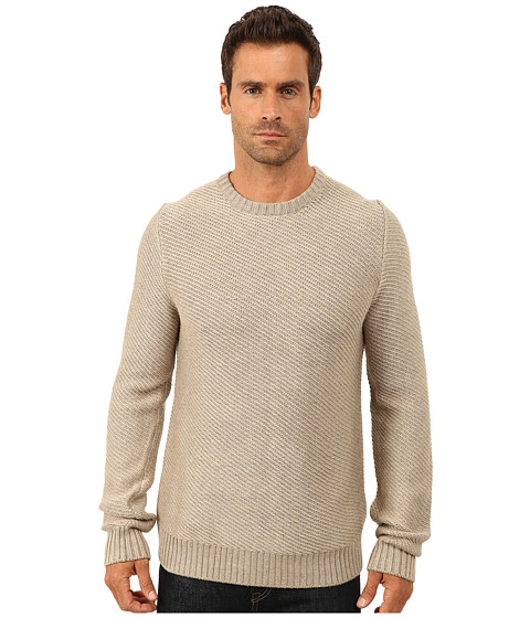 Lucky Brand - Boardwalk Crew (Oatmeal) Men