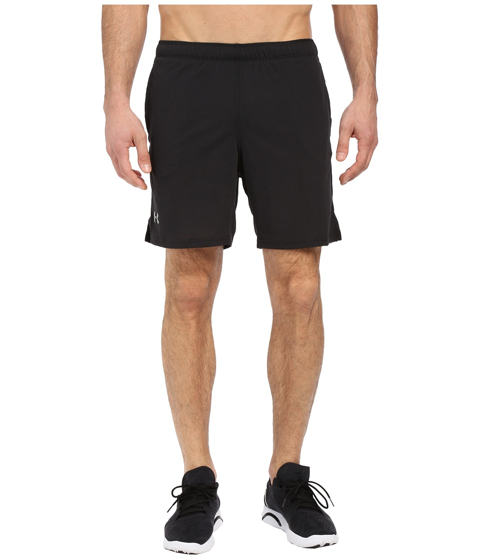 Under Armour - UA Streaker Shorts (Black/Black) Men's Shorts