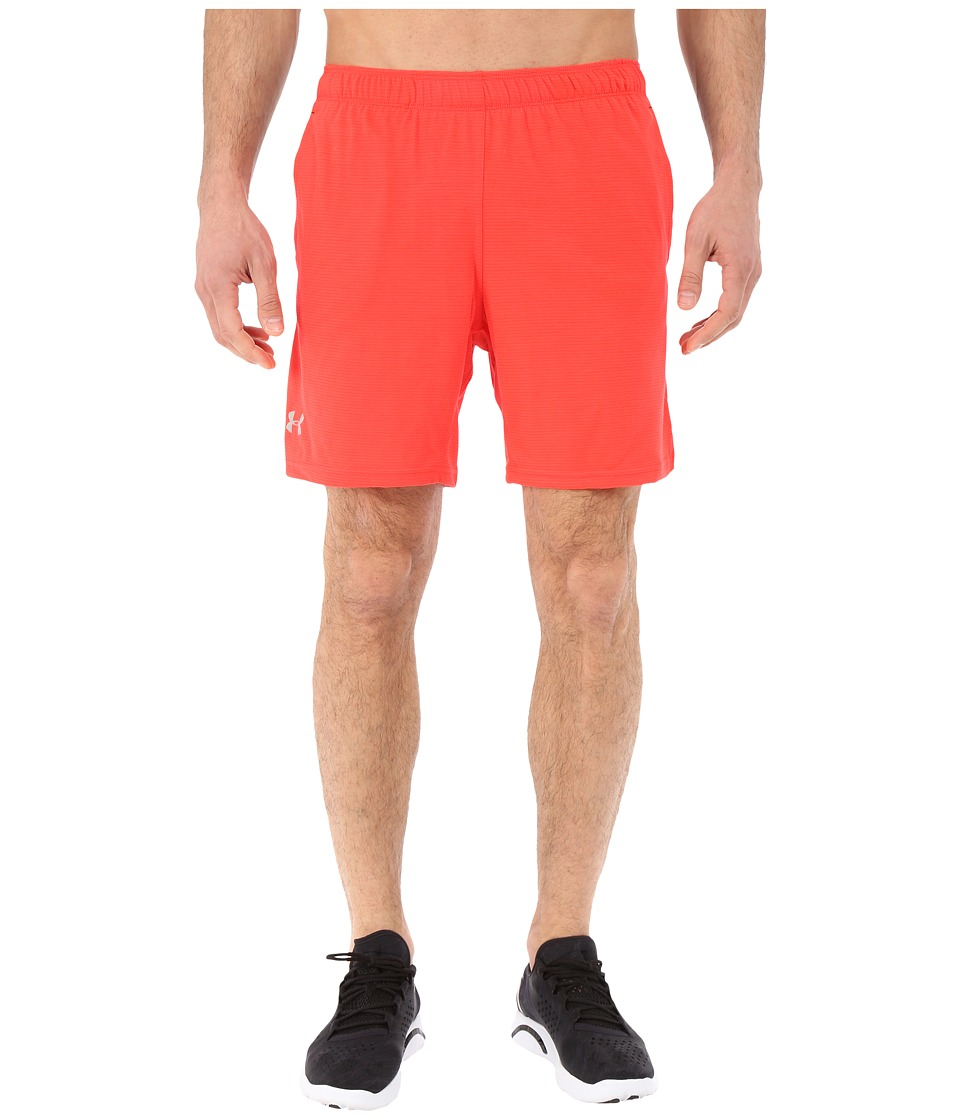 Under Armour - UA Streaker Shorts (Rocket Red/Black) Men's Shorts