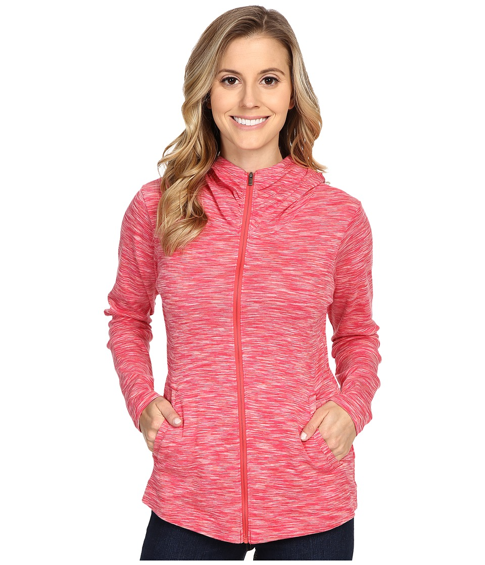 Columbia - OuterSpaced Full Zip Hoodie (Coral Bloom) Women's Sweatshirt