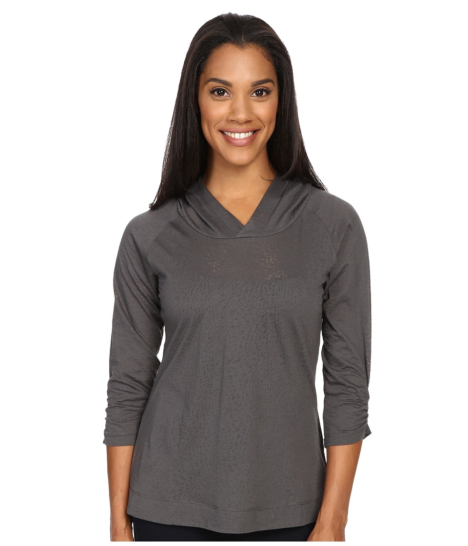 Columbia - See Through You Burnout Hoodie (Grill Burnout) Women's Sweatshirt