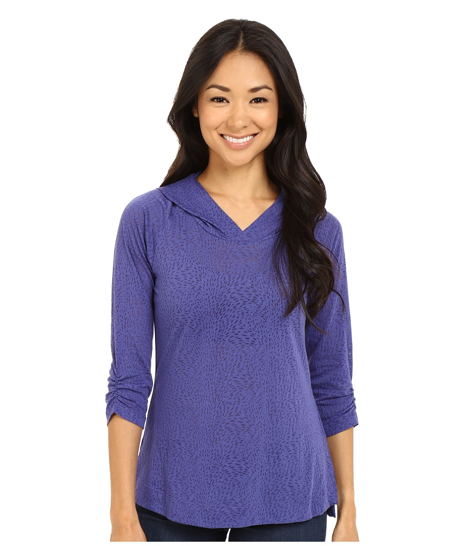 Columbia See Through You Burnout Hoodie (Skyward Burnout) Women