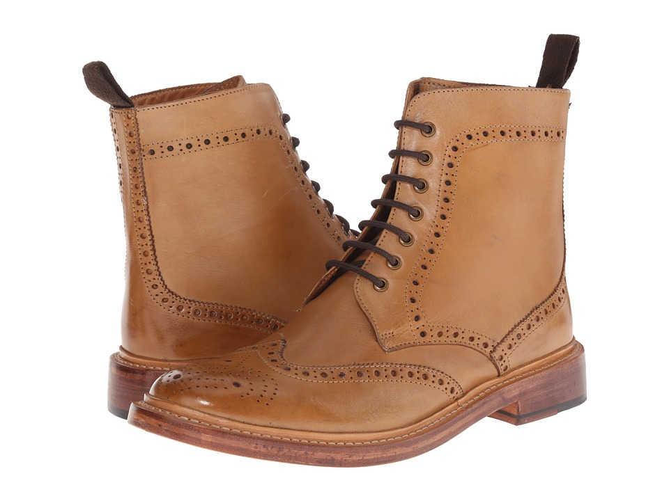 Lotus - Dunford (Burnished Tan Leather) Men's Lace-up Boots
