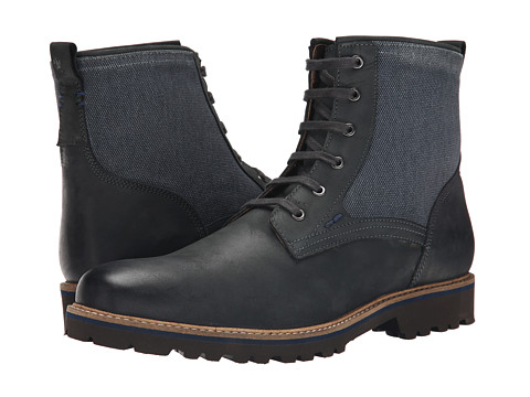 Lotus - Kinley (Black Nubuck) Men's Lace-up Boots