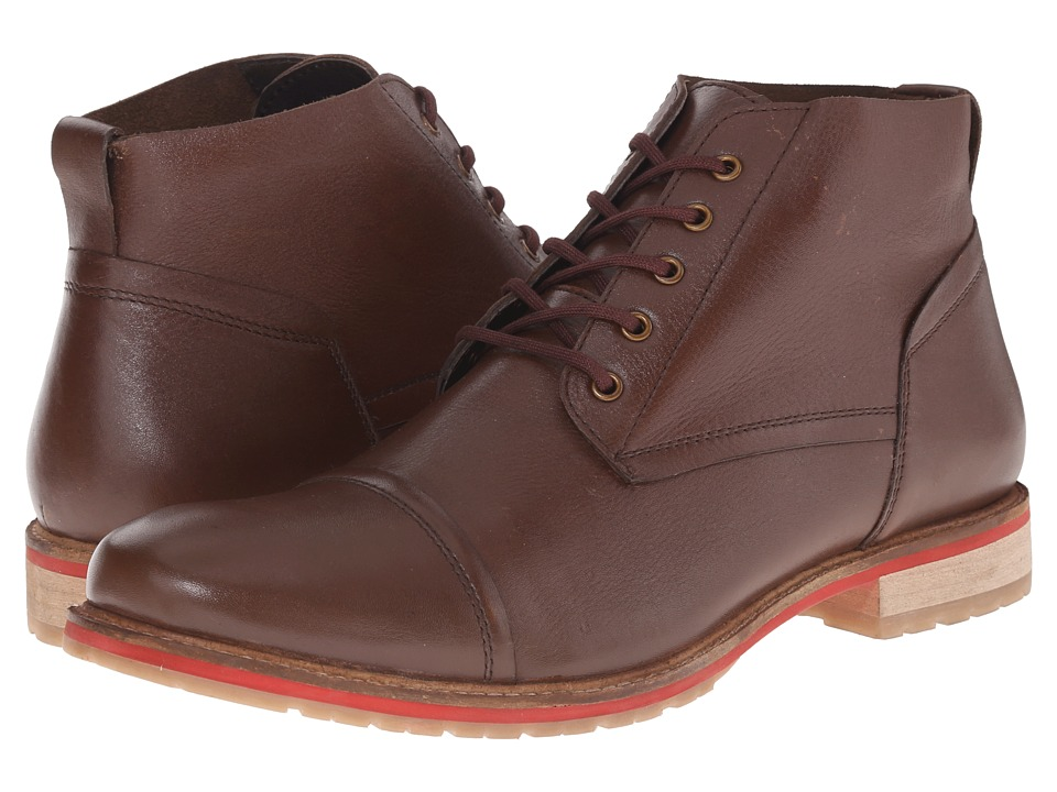 Lotus - Wheeler (Brown Leather) Men's Lace-up Boots