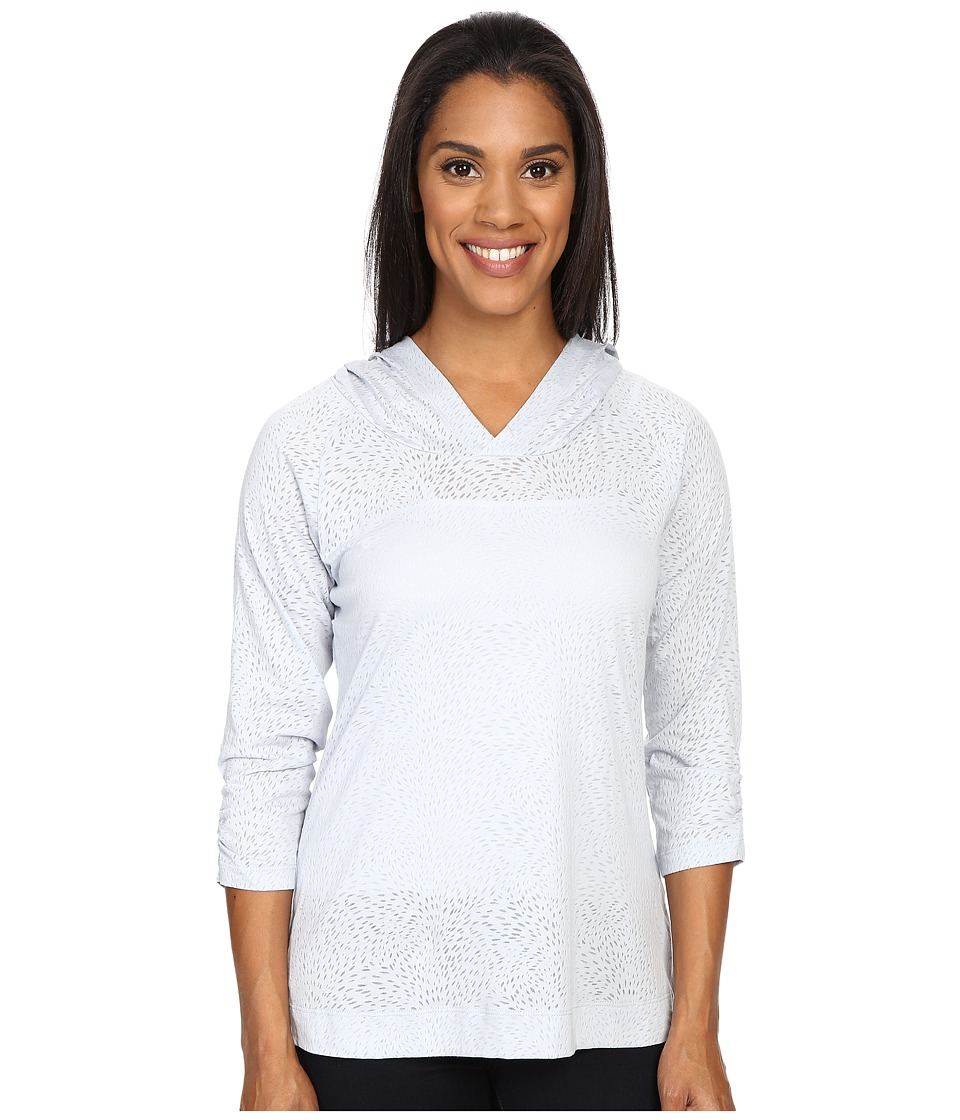 Columbia - See Through You Burnout Hoodie (Cirrus Grey Burnout) Women's Sweatshirt