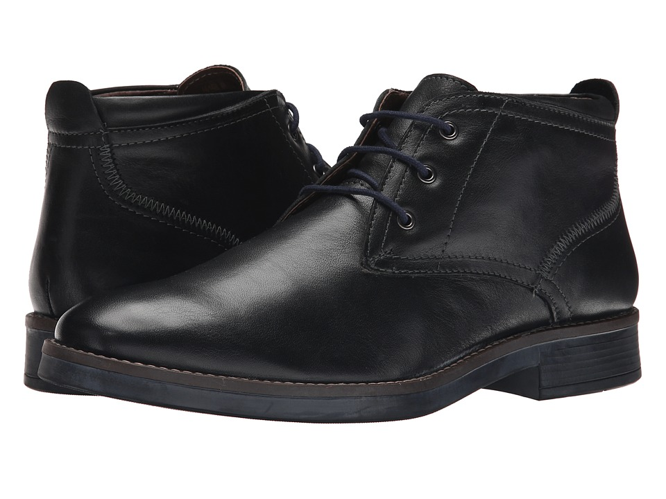 Lotus - Rainer (Black Milled Leather) Men