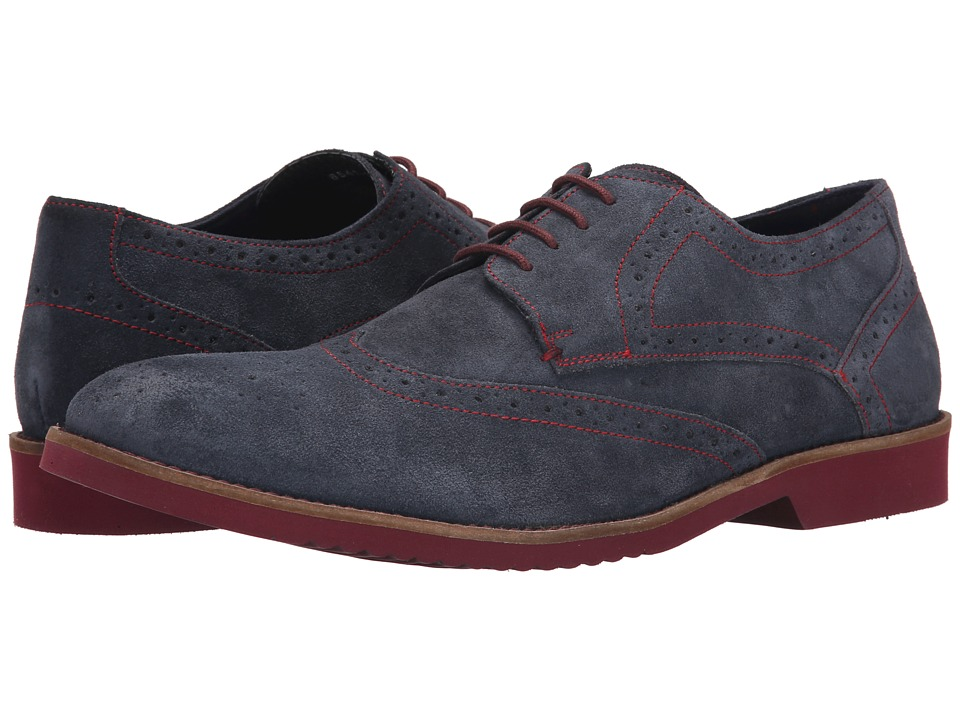 Lotus - Everest (Navy Greasy Suede) Men