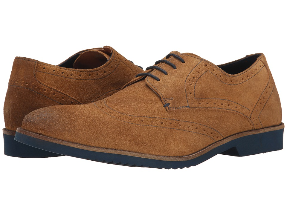Lotus - Everest (Stone Greasy Suede) Men's Shoes